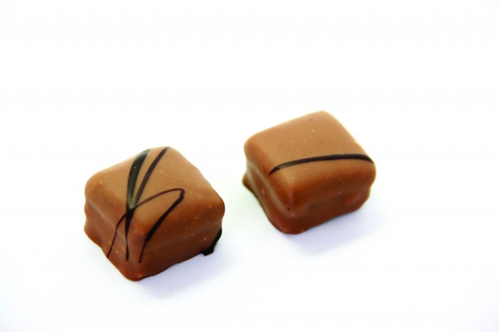 Karmelowy orzech ziemny